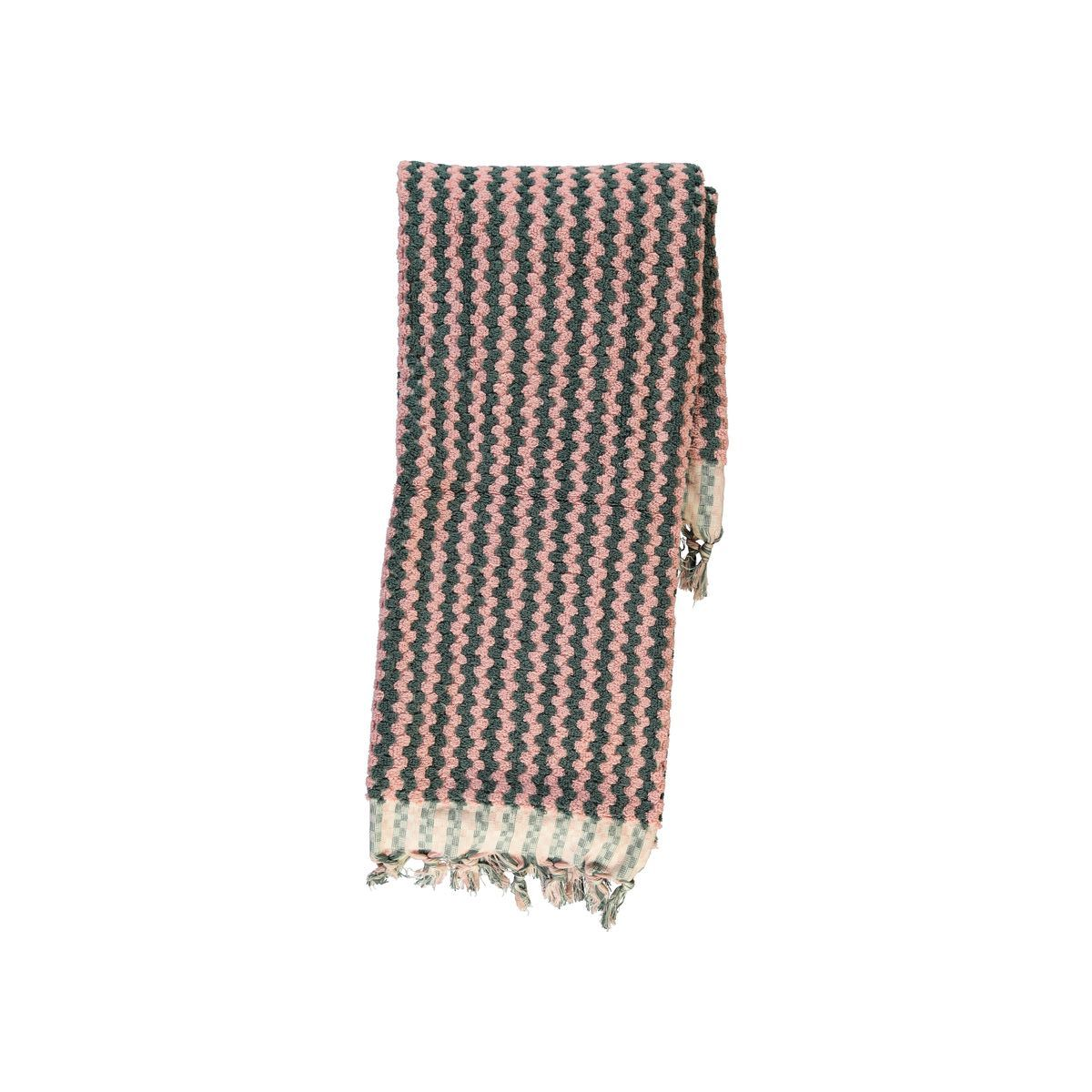 Towel Classic / Wire - Dusty Rose/Dark Grey