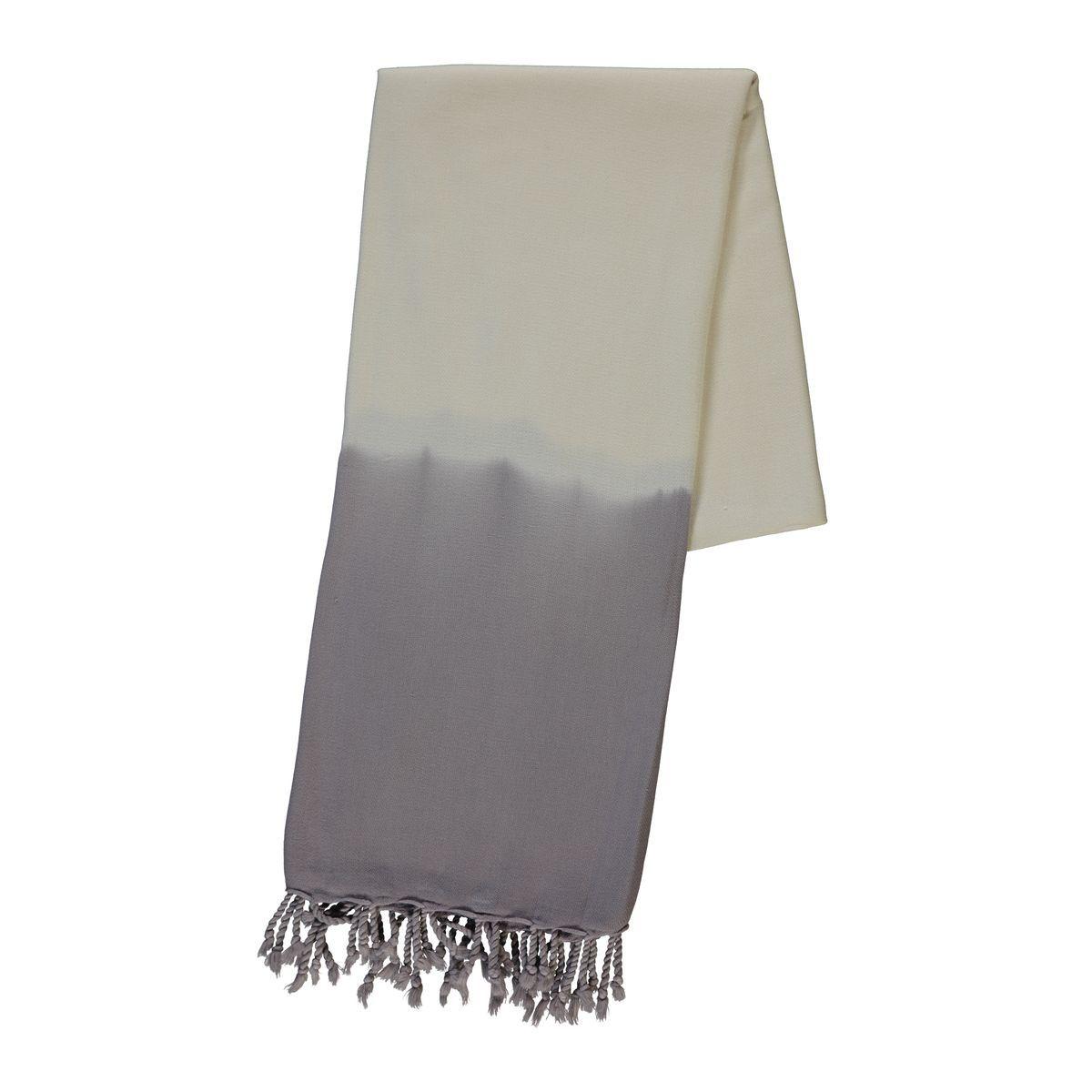 Peshtemal - Tie-Dye / Light Grey
