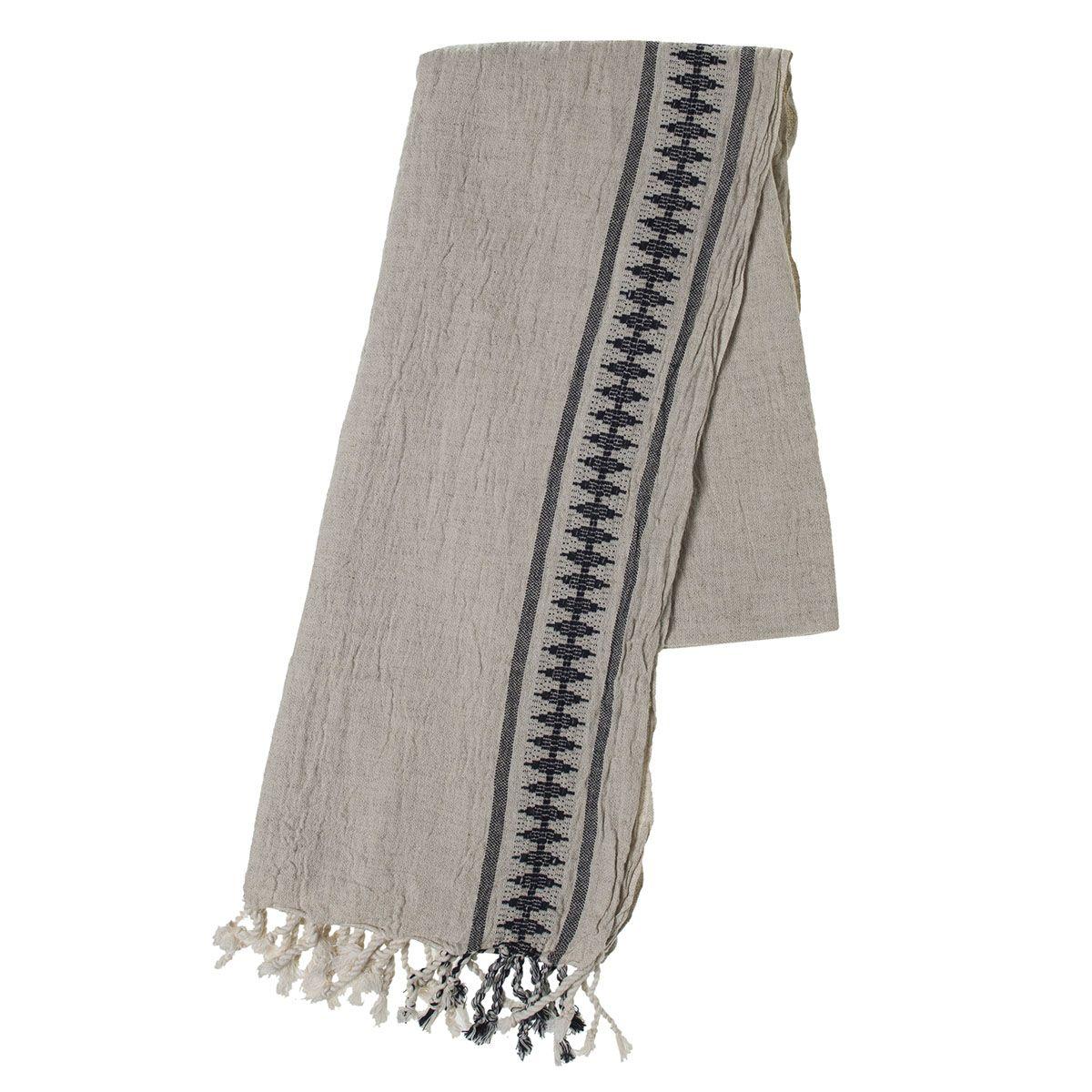 Peshtemal Antique - Black Stripe
