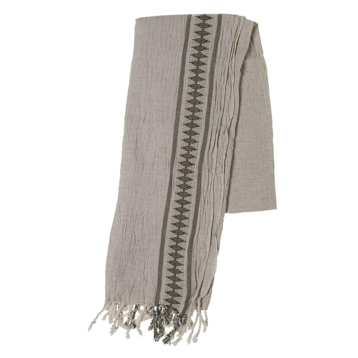 Peshtemal Antique - Khaki Stripe