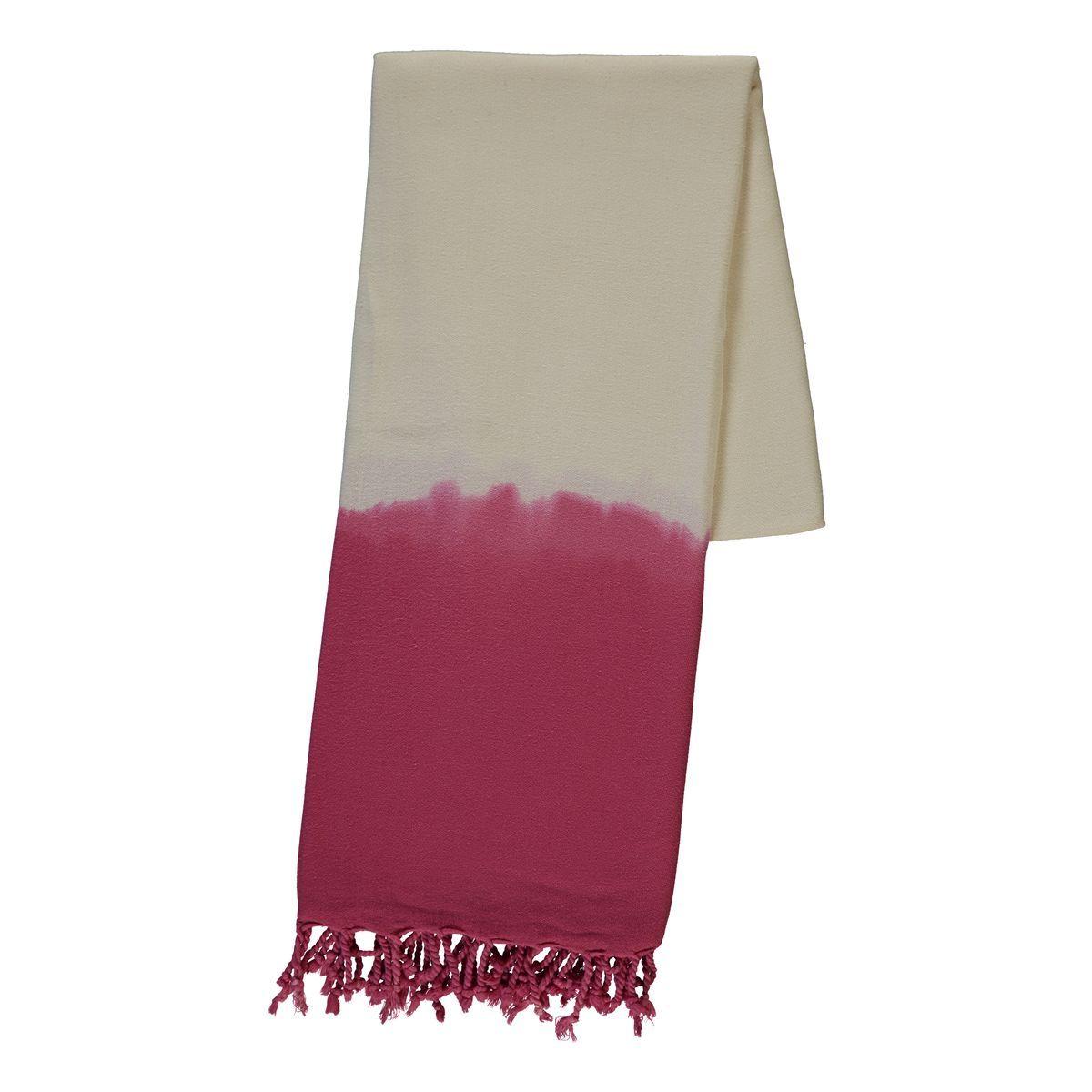 Peshtemal - Tie-Dye / Fuchsia