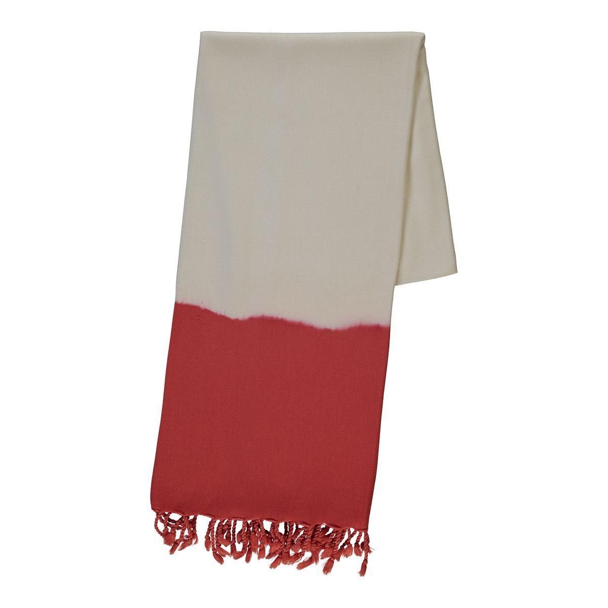 Peshtemal - Tie-Dye / Red