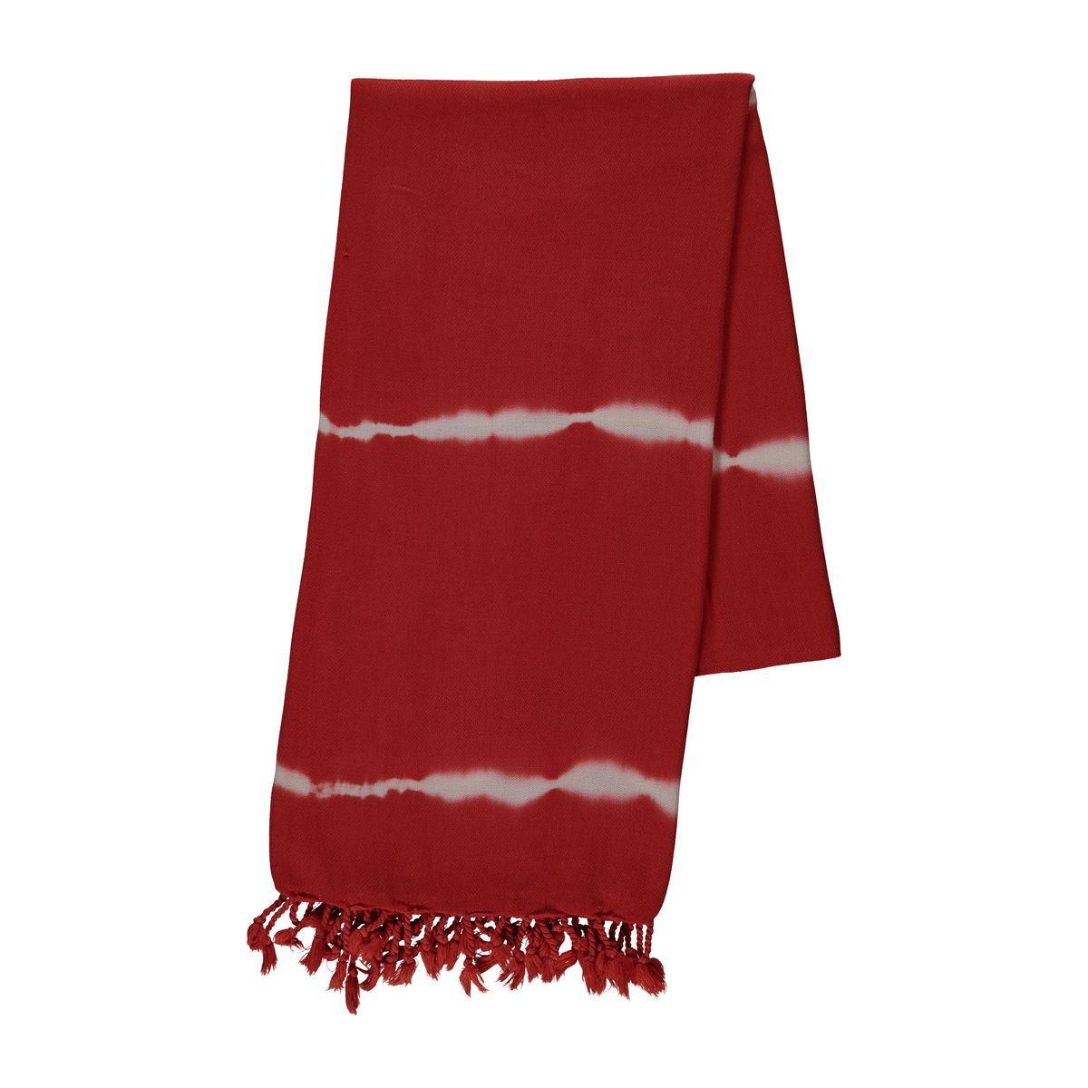 Peshtemal - Tie -Dye / Base Red