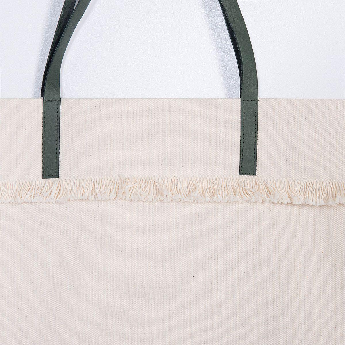 Çanta - Mars / Haki Çizgili ve Saplı
