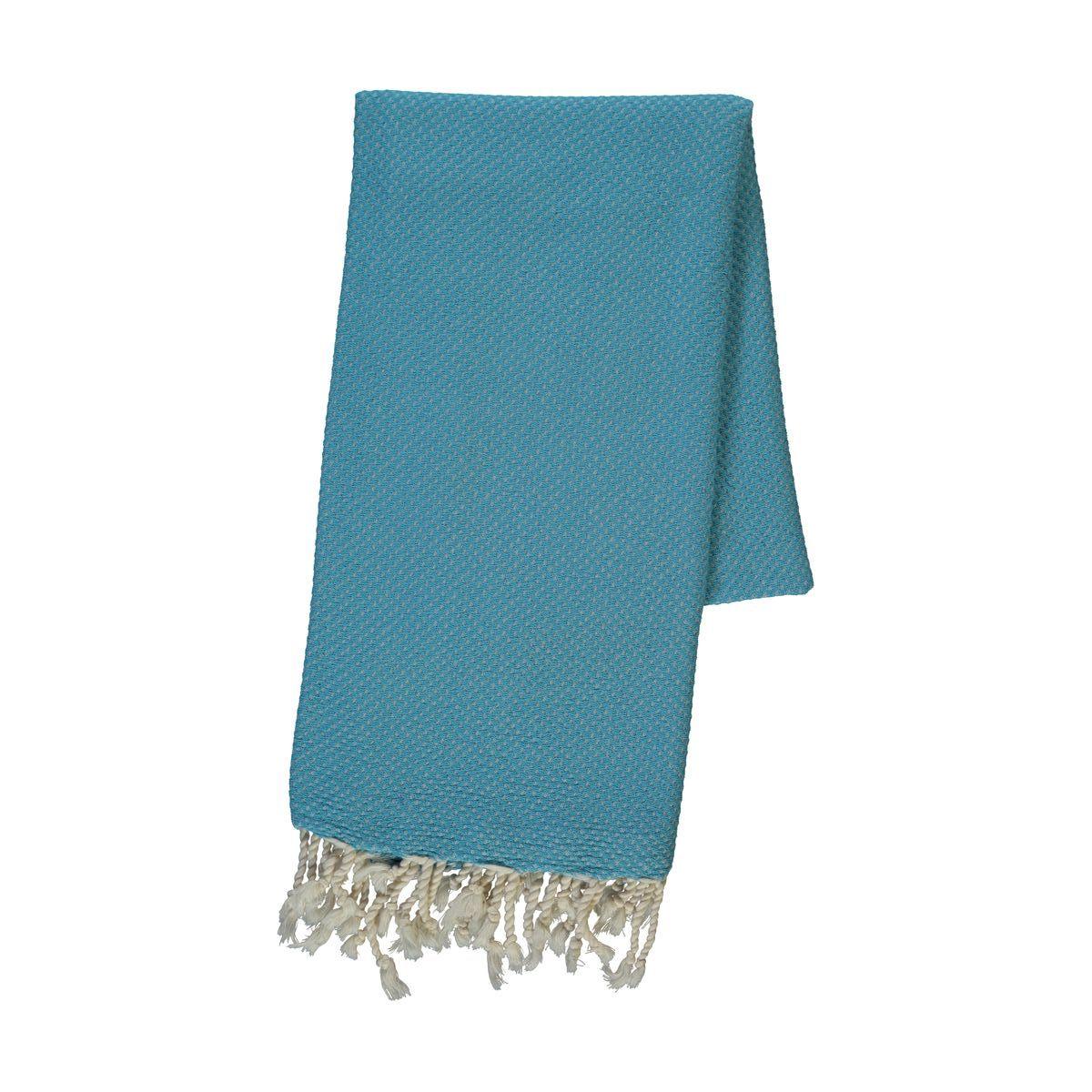 Peshtemal Dama - Turquoise