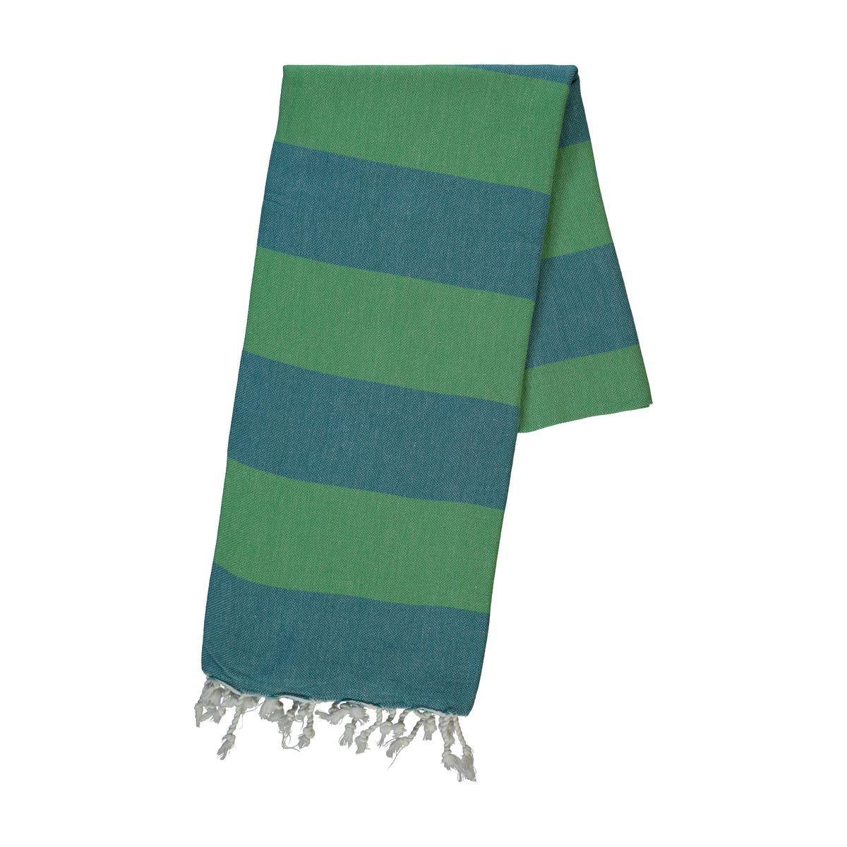Peştemal Tenedos - Açık Yeşil / Koyu Yeşil