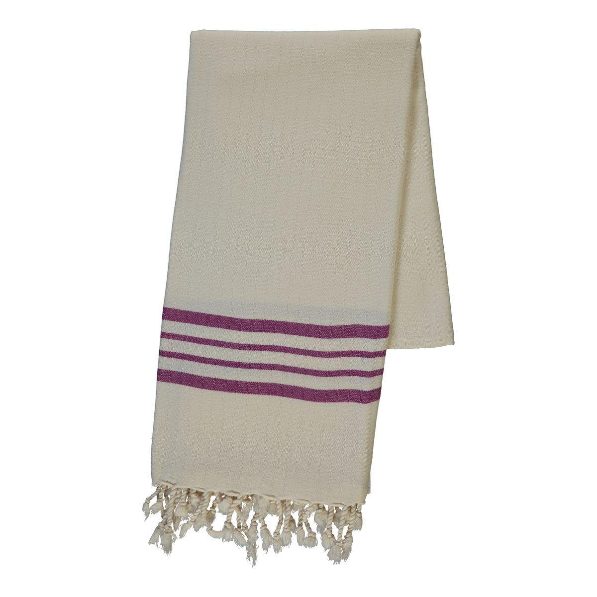 Peshtemal Sultan - Light Purple Stripes