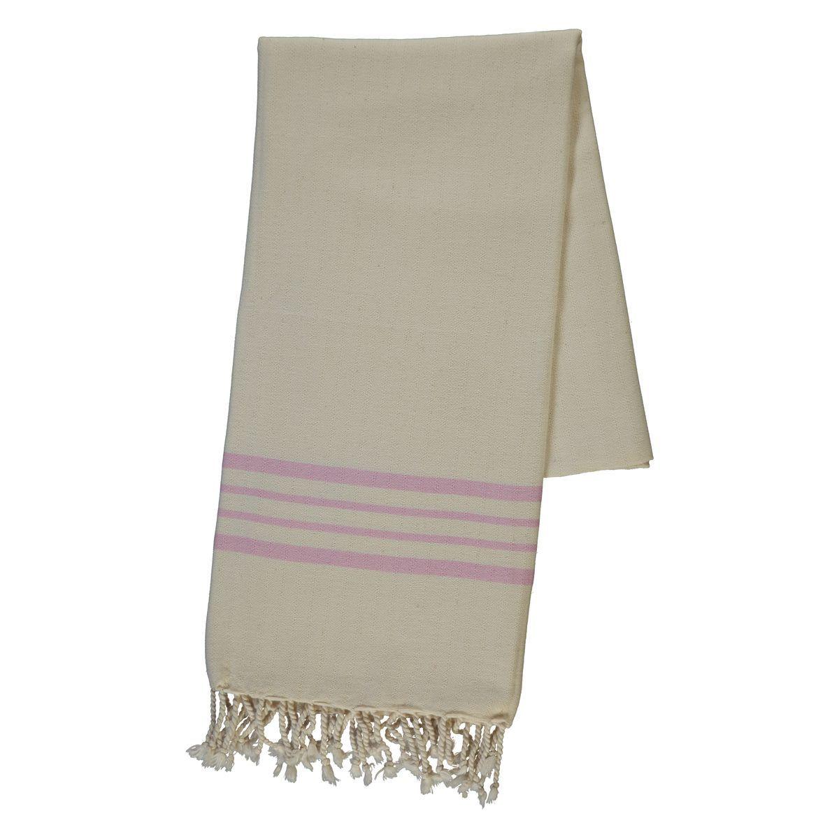 Peshtemal Sultan - Pink Stripes