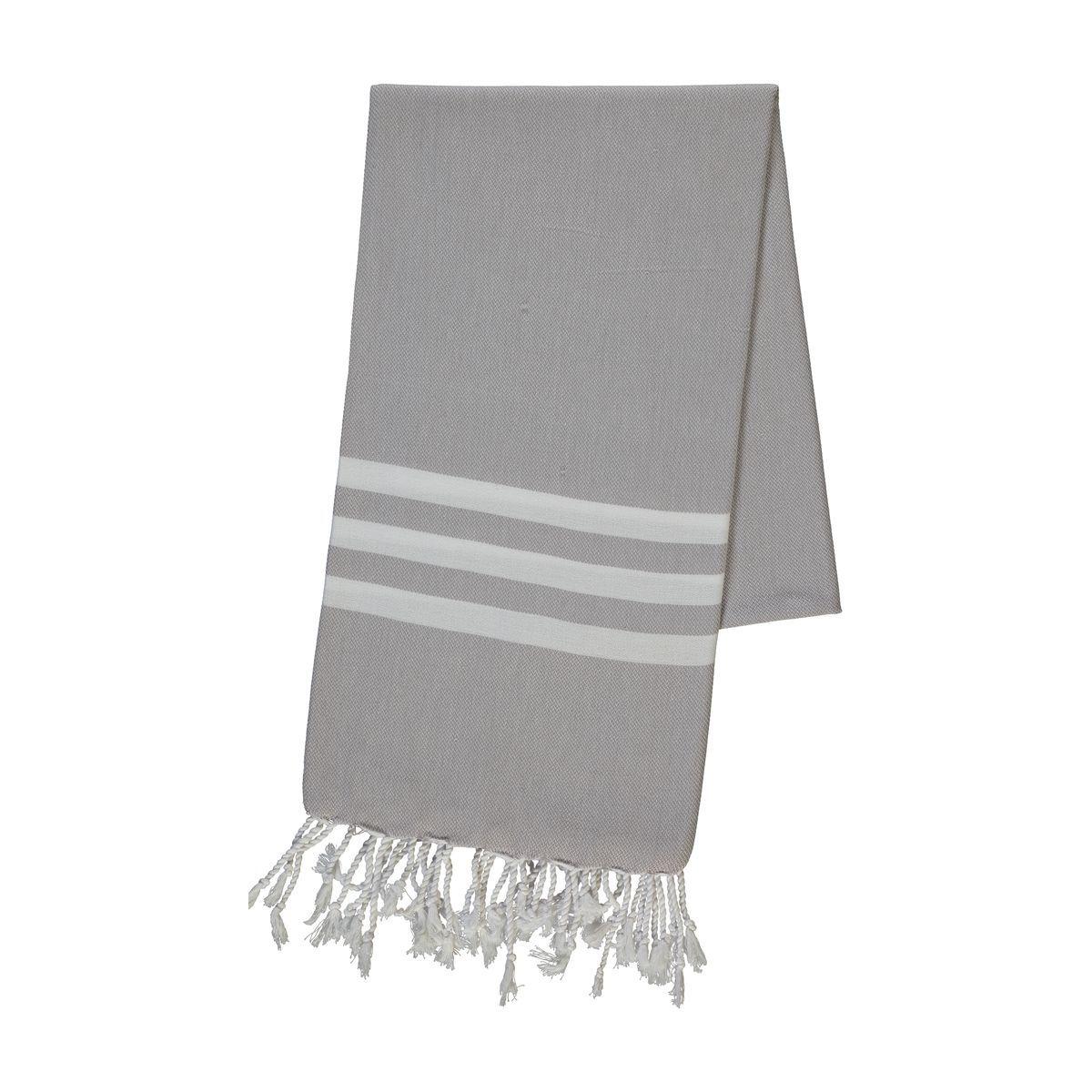 Peshtemal Bala Sultan - Light Grey