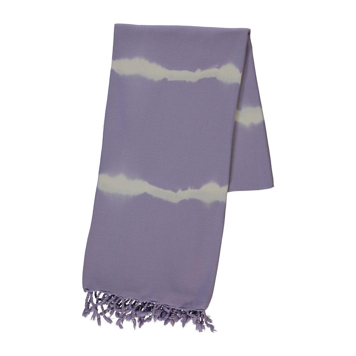 Peshtemal - Tie-Dye / Base Lilac