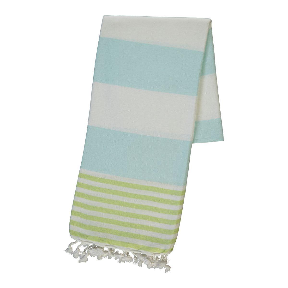 Peshtemal Ladon03 - Green / Mint