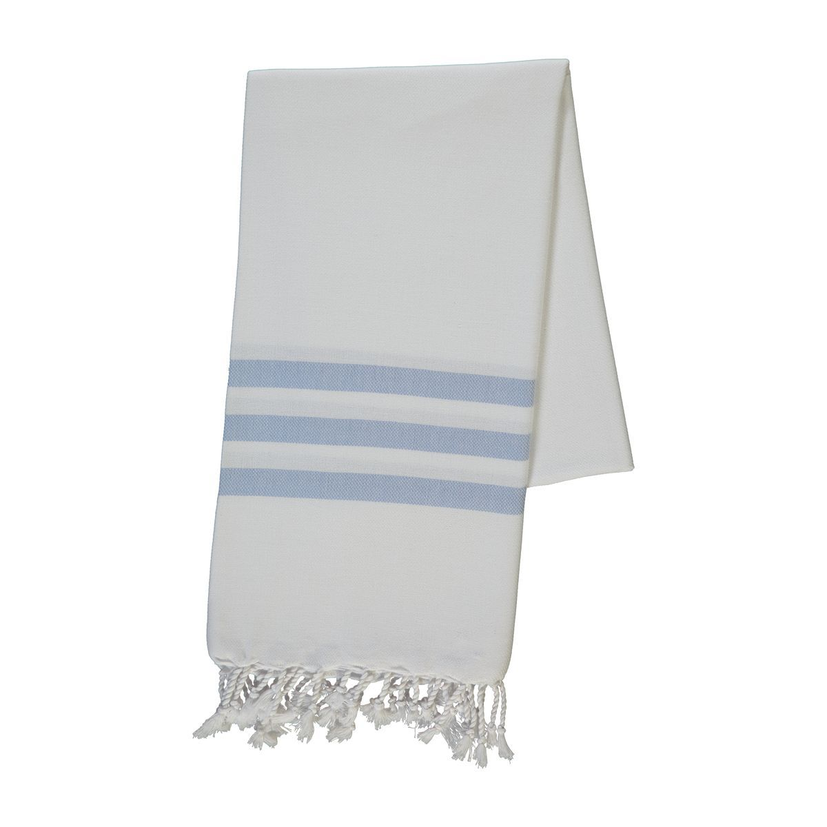 Peştemal Bala Sultan - Beyaz/Mavi