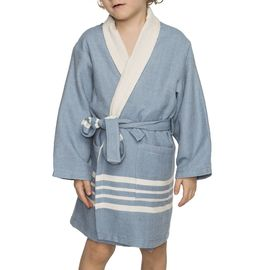 Bathrobe Kiddo Terry  - Air Blue
