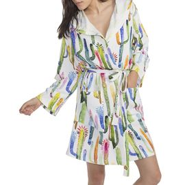 Bathrobe - Cactus Printed