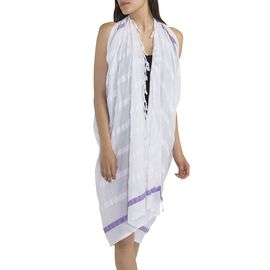 Pareo - Acacia / Dark Lilac Stripes