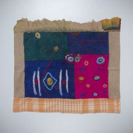 Decorative Cover -  Handmade Silk / Felted 2