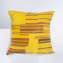 Cushion Cover - Patchwork BR 60 x 60  - Yellow