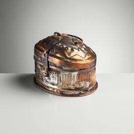 COPPER SOAP BOX 12 x 8 cm   (TRADITIONAL)