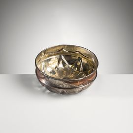 COPPER PLATED BOWL 10.50 CM