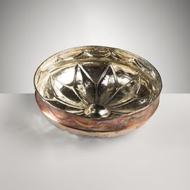 COPPER PLATED BOWL 19.50 CM
