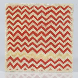 Coaster Travertine Tile D16