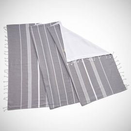 TOWEL ANI  CP- DOUBLE FACE /  DARK GREY