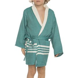 Bathrobe Kiddo Terry - Fanfare Green