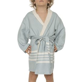 Bathrobe Kiddo Terry - Light  Blue
