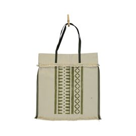 Tote Bag - Mars / Hand Printed - Green (Vertical)