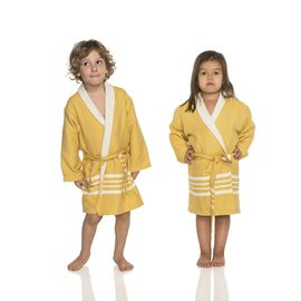 Bathrobe Kiddo Terry - Yellow