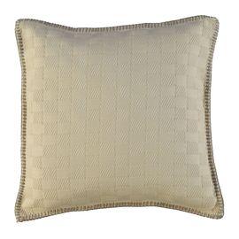 Cushion Cover - Sugar Fabric / Beige Stitched