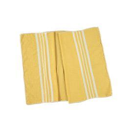 Peshkir Sultan - Stitched / Yellow