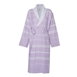 Bathrobe Leyla / With Towel Lining - Lilac