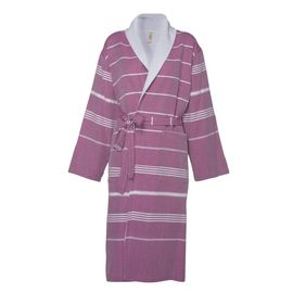 Bathrobe Leyla / With Towel Lining - Light Purple