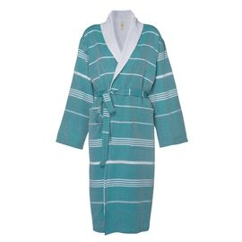 Bathrobe Leyla / With Towel Lining - Fanfare Green