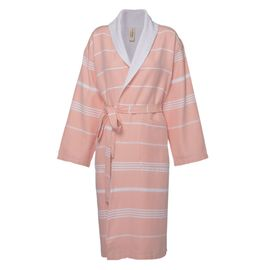 Bathrobe Leyla / With Towel Lining - Melon