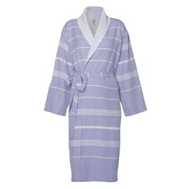 Bathrobe Leyla / With Towel Lining - Lavender
