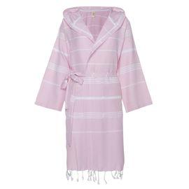 Bathrobe Leyla CP - Rose Pink