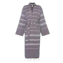 Bornoz Leyla / Kimono Yaka - Kahverengi