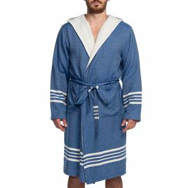 Bathrobe Sultan / Double Side - Royal Blue