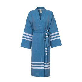 Bathrobe Bala Sultan kimono - Petrol Blue