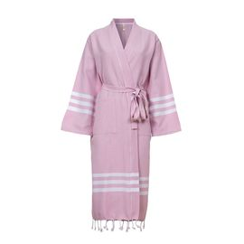 Bathrobe Bala Sultan kimono - Rose Pink