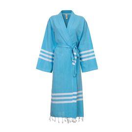 Bathrobe Bala Sultan kimono - Turquoise