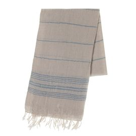 Peshtemal / Pareo Toprak - Air Blue Stripes