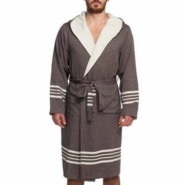 Bathrobe Sultan / Double Side - Brown