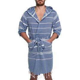 Bathrobe Leyla CP - Royal Blue