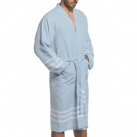 Bathrobe Bala Sultan kimono - Light Blue