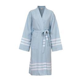 Bathrobe Bala Sultan kimono - Light Blue