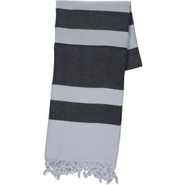 Peshtemal / Towel Soho - White / Black