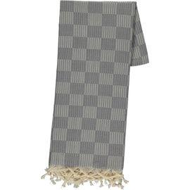 Peshtemal Square - Dark Grey